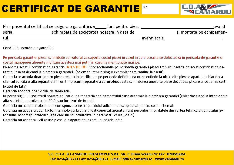 Garantie-piese-CAMARDU